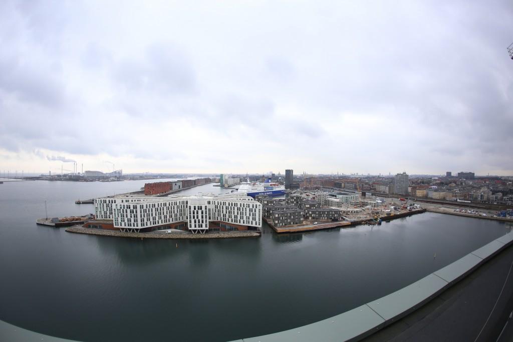Udsigten fra Portland Towers. Foto: Stefan Frank thor Straten