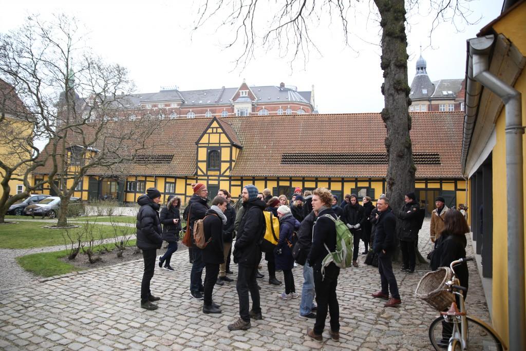 Fæstningens Materialgård. Foto: Stefan Frank thor Straten